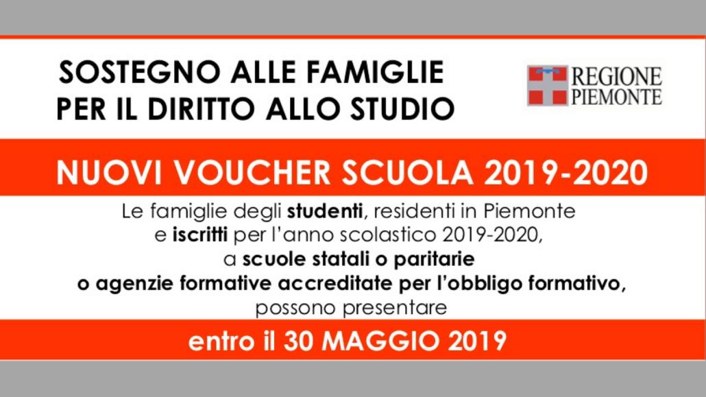 Calendario Scolastico 2019 E 2020 Piemonte.Sostegno Alle Famiglie Per Il Diritto Allo Studio Pgdonbosco