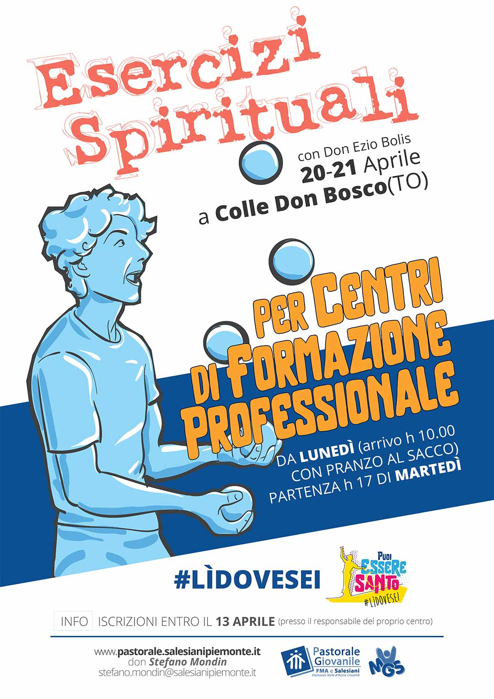 Calendario Esercizi Spirituali 2020.Esercizi Spirituali 2019 2020 Pgdonbosco